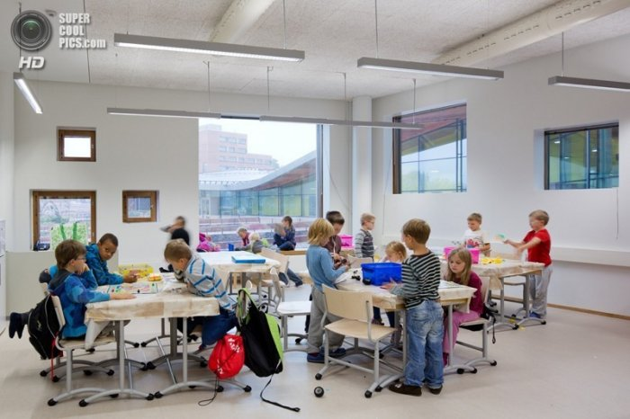 Обычная школа в Финляндии, в которую хочется идти