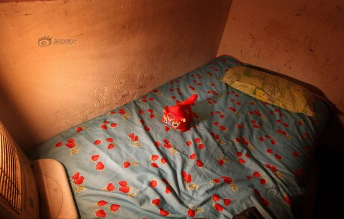 Рабочие места китайских проституток в борделях