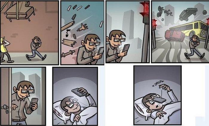 Весёлые комиксы обо всём на свете