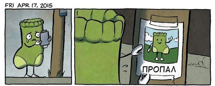 Ещё больше прикольных комиксов! Забавная подборка