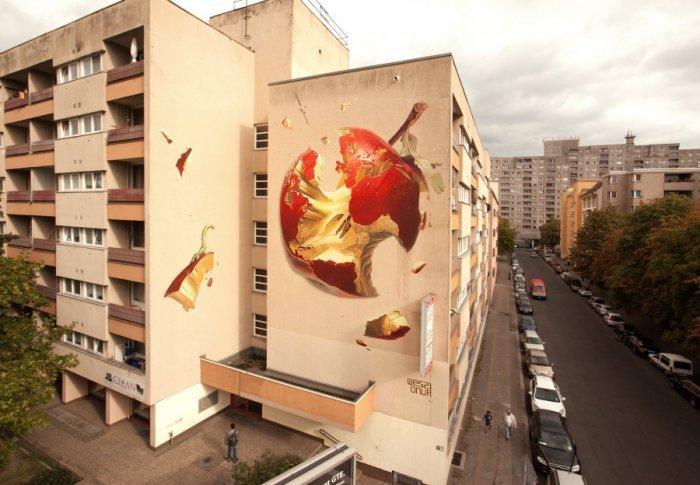 Креативный стрит-арт. Уличное искусство