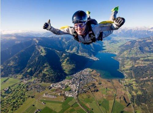 Прыжки с парашютом. Красивые фото
