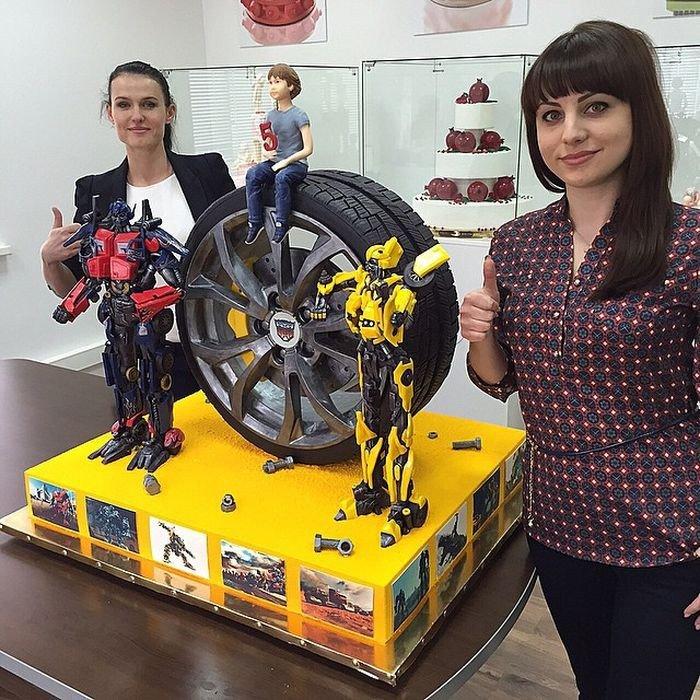 Красивые тортики Рената Агзамова. Выпечка с фантазией