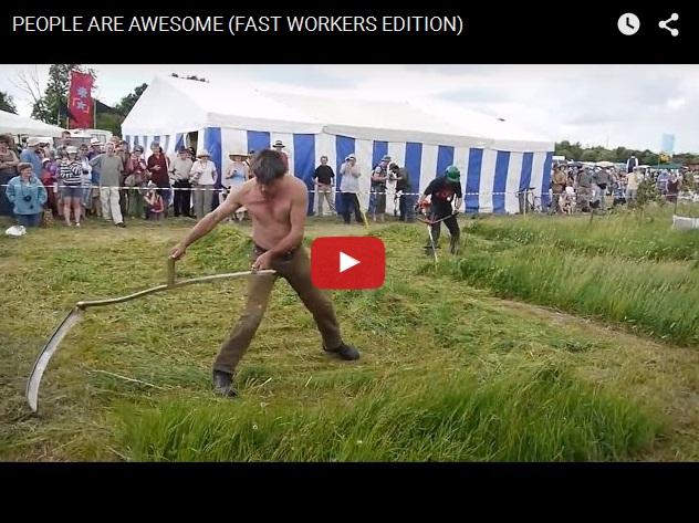 Прикольное видео про людей, которые творчески относятся к своей работе