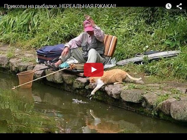 Ржачные приколы на рыбалке