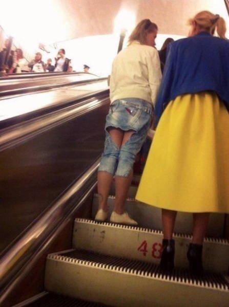 Мода из народа. Нелепые наряды