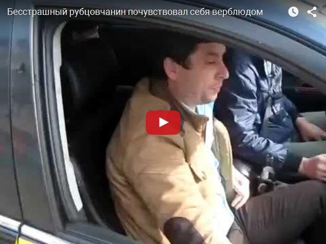 Суровый сибирский адвокат плюнул в гаишника