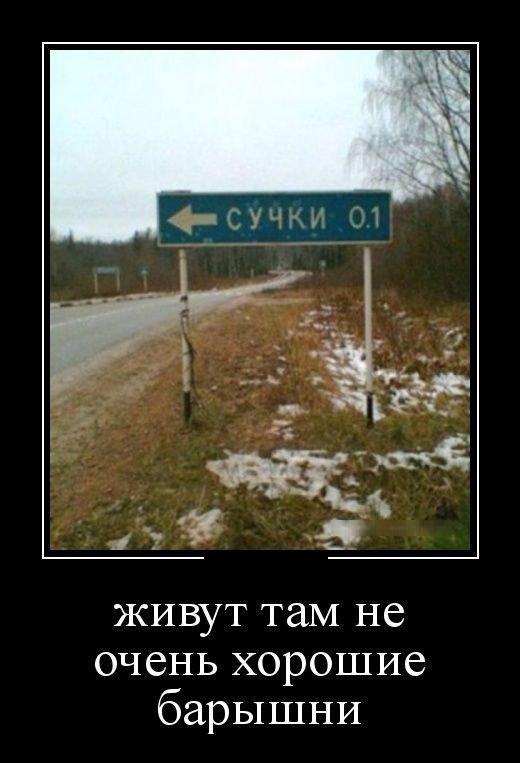 Подборка прикольных русских демотиваторов