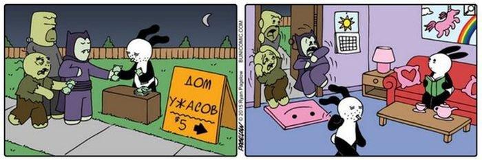 Подборка забавных комиксов