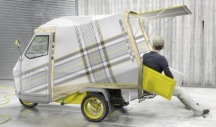 Отличный дом на колёсах для небогатых людей. Картинки про авто