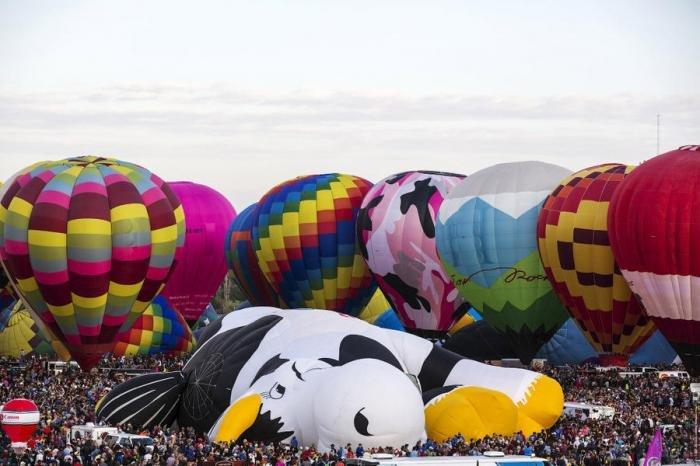 Фестиваль воздушных шаров в Америке. Путешествия