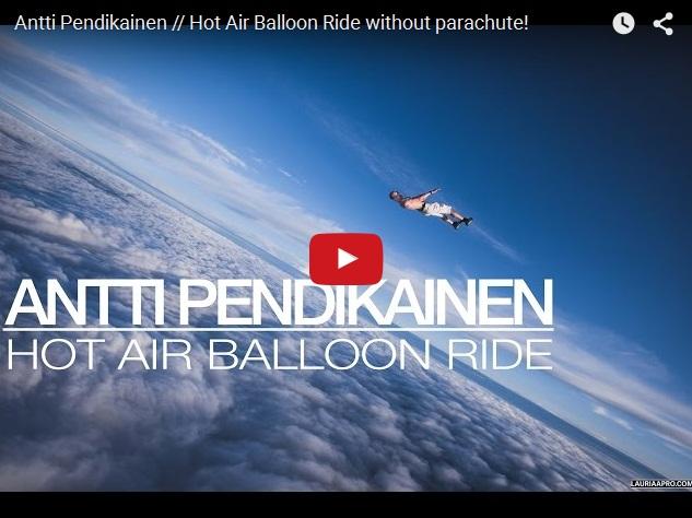 Как прыгнуть с воздушного шара без парашюта
