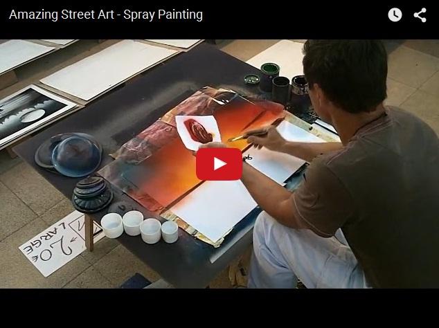 Удивительное искусство уличного художника