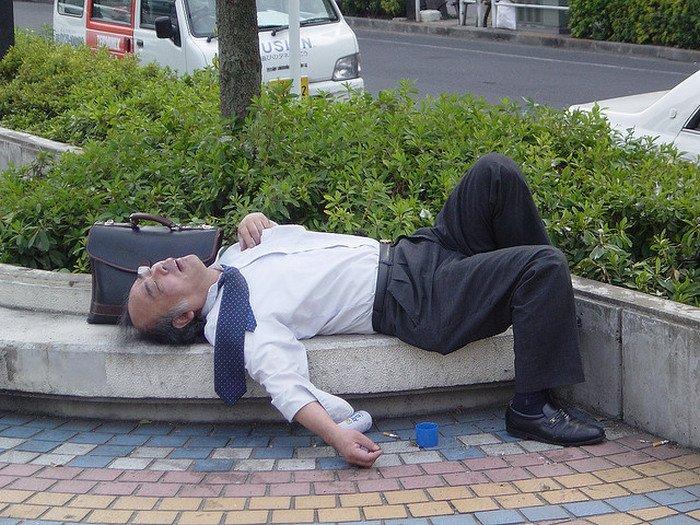 Прикольные фото пьяных японцев