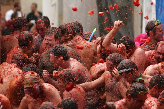 Самые крутые фестивали в мире. Прикольные фото
