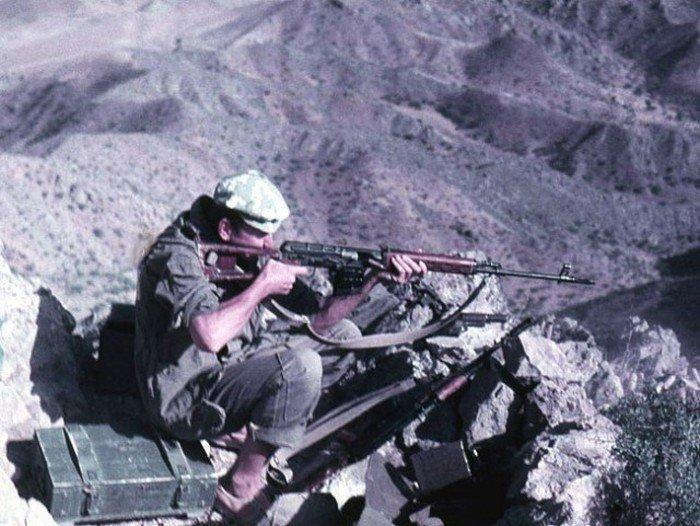 Фотографии советских снайперов в Афганистане