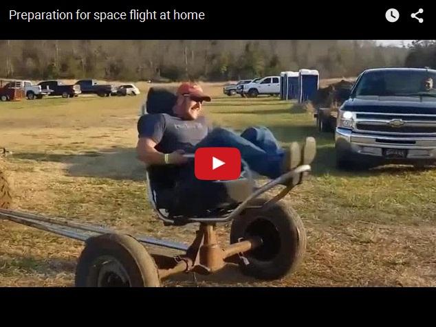 Как стать космонавтом в домашних условиях