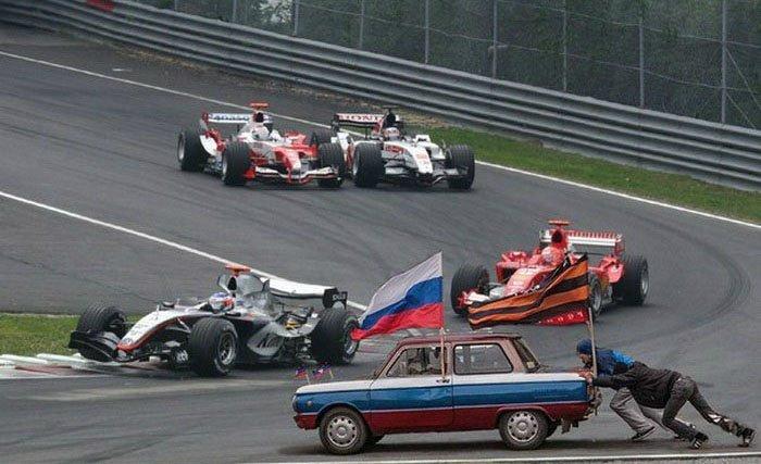 Забавная подборка картинок про автомобили