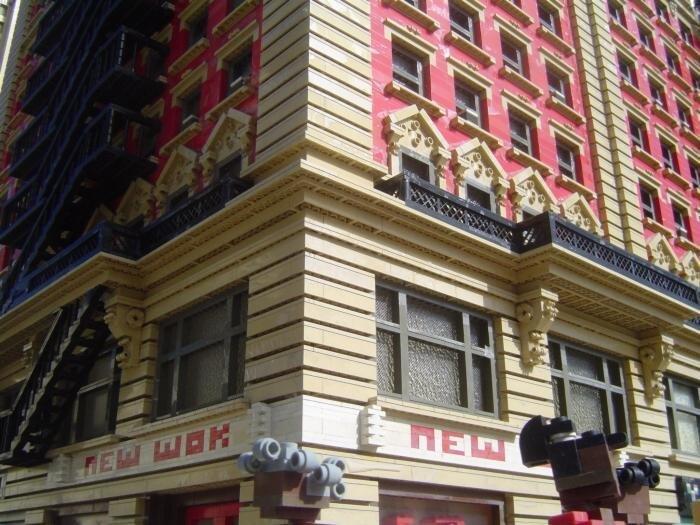Необычный город. Поделка из LEGO