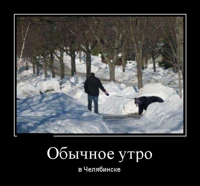 Свежие русские демотиваторы. Прикольная подборка