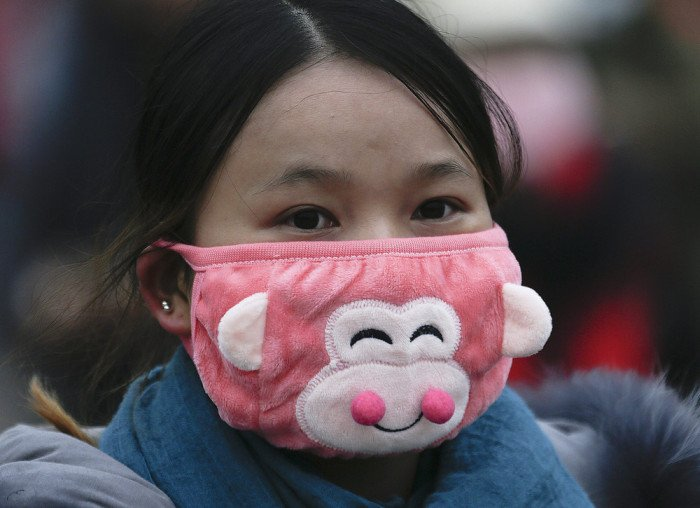 Модные марлевые повязки. Новая мода в Китае