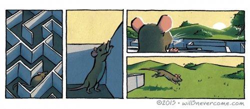 Подборка комиксов. Зимние приколы