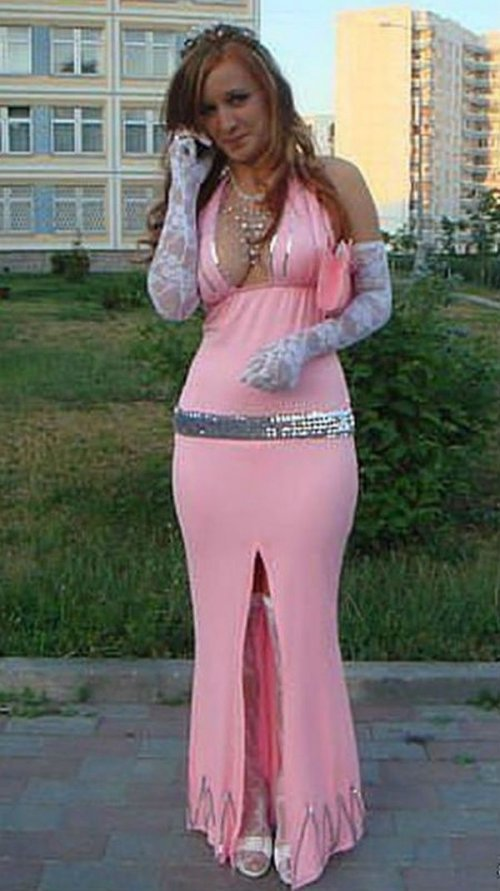 Странные выпускные платья. Смешные фото
