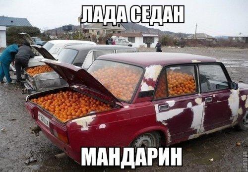 Прикольные автомобильные картинки