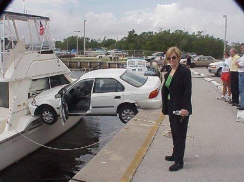 Гении парковки. Приколы про авто