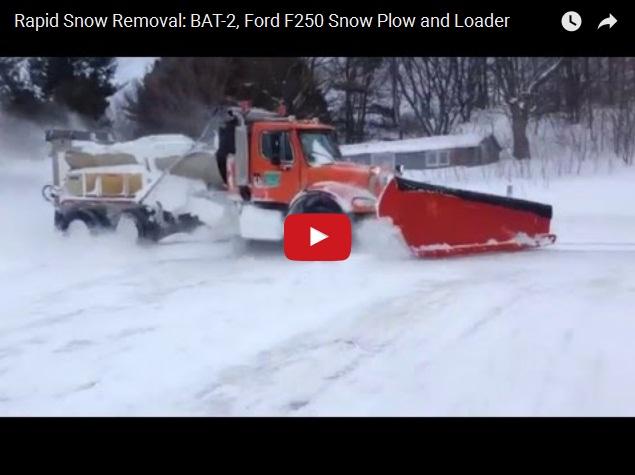 Вот как нужно убирать снег