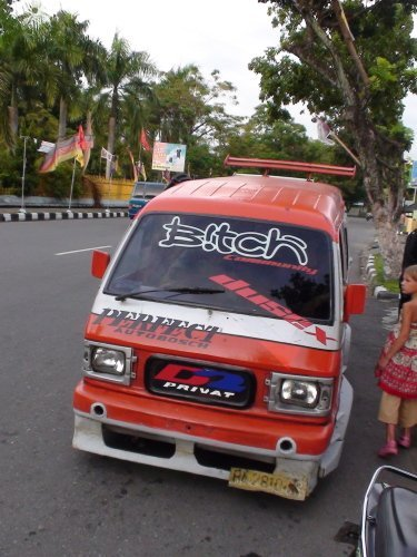 Общественный транспорт в Индонезии