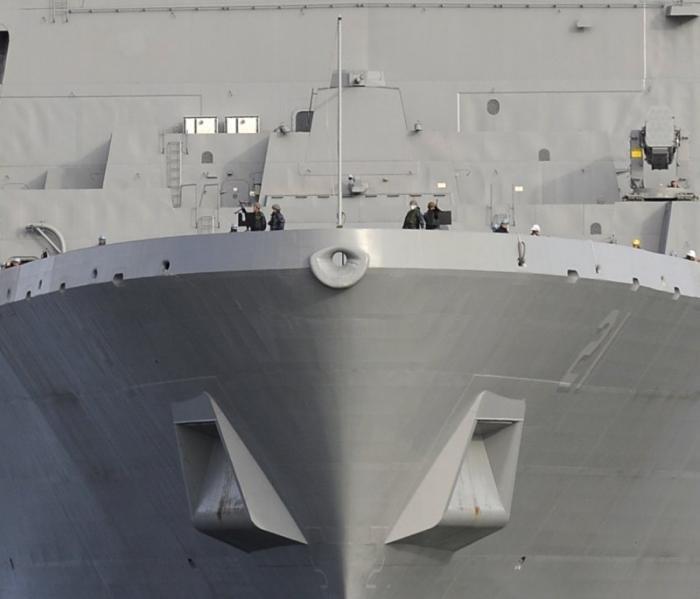 Американский корабль-невидимка