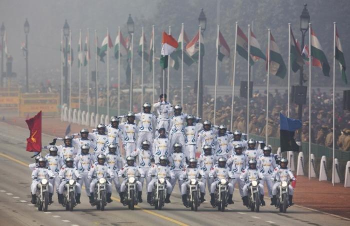 День республики в Индии. Торжественное мероприятие
