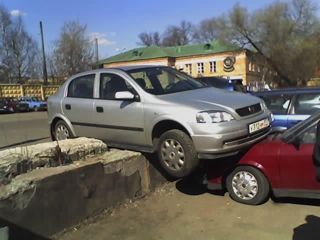 Неудачи за рулём. Автомобильные приколы
