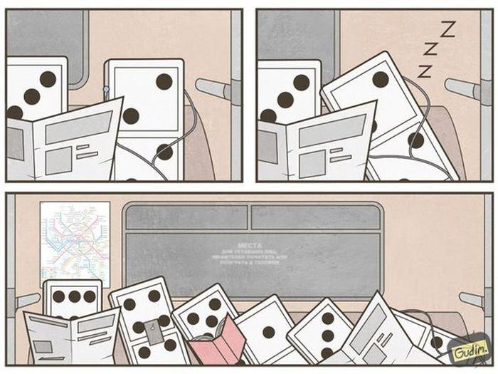 Забавные комиксы в ассортименте. Весёлая подборка