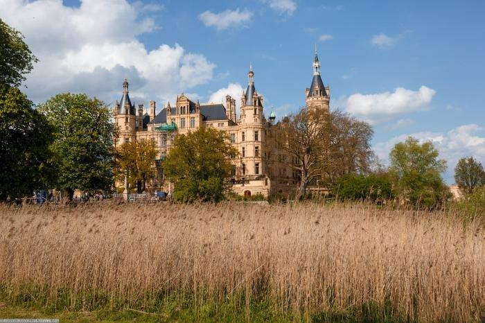 Шверинский замок. Красивые фотографии