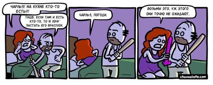 Подборка смешных комиксов. Весёлые картинки