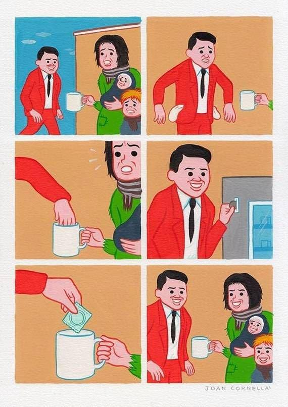 Забавный пост комиксов. Улётная подборка