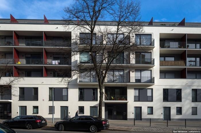 Небольшие берлинские жилые дома. Путешествия