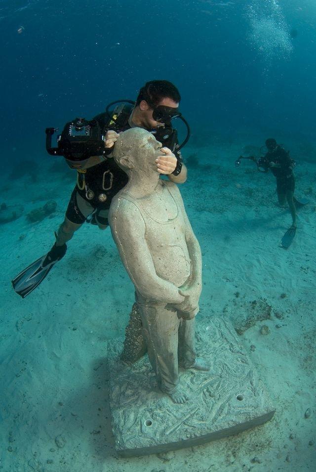 Фотографии из восхитительного подводного музея