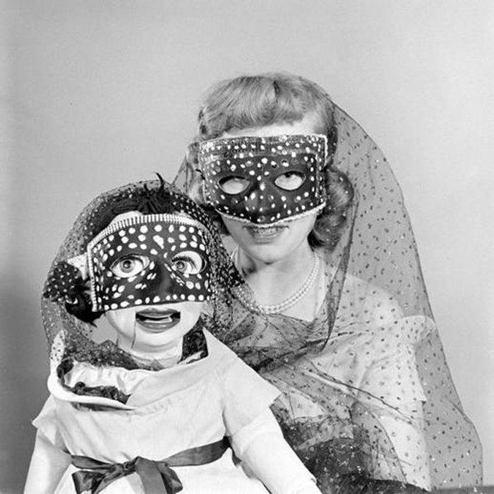 Очень страшные куклы. Ретро-фото