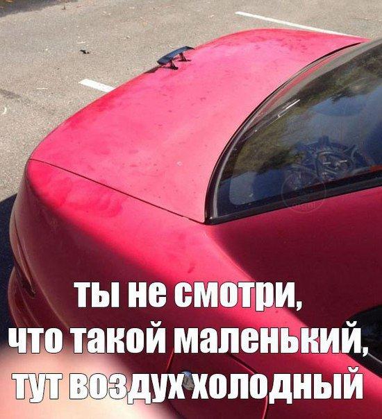 Подборка приколов про автомобили. Свежие картинки