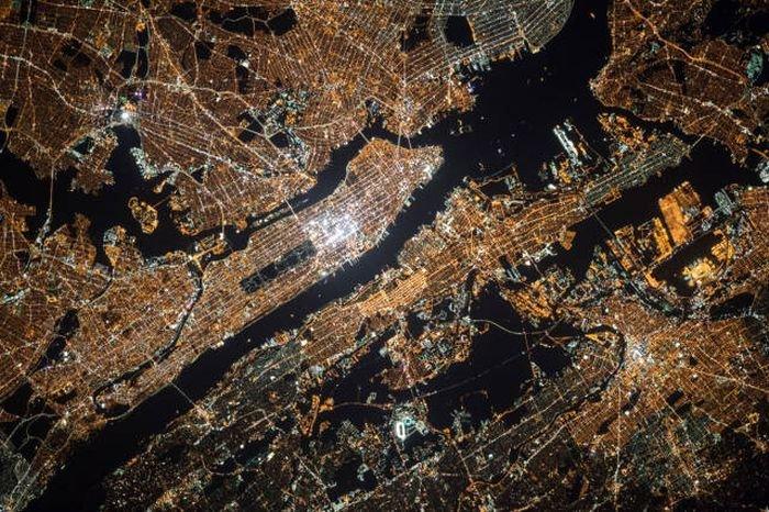 Фотографии с борта МКС. Красивые картинки