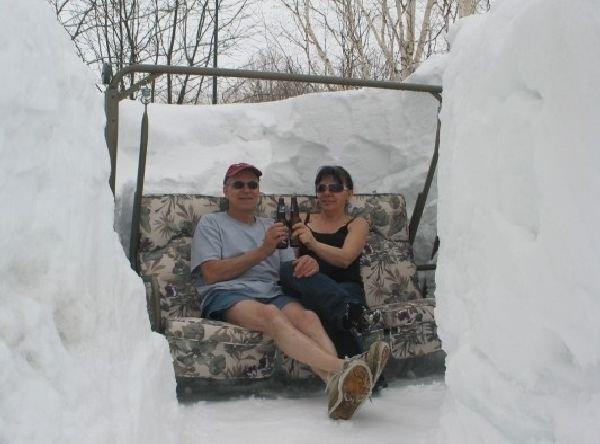 Потепление в действии. Снежная зима
