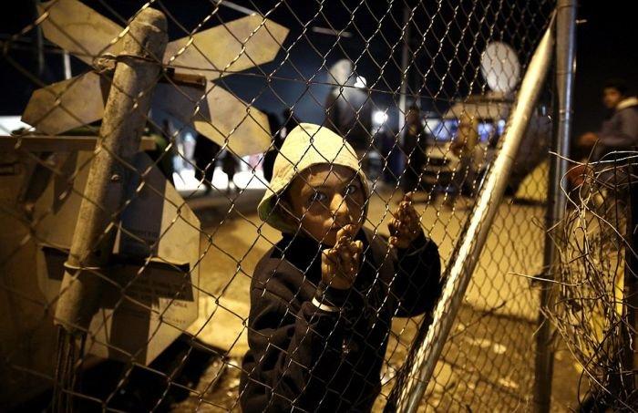 Македония оградилась от Греции забором