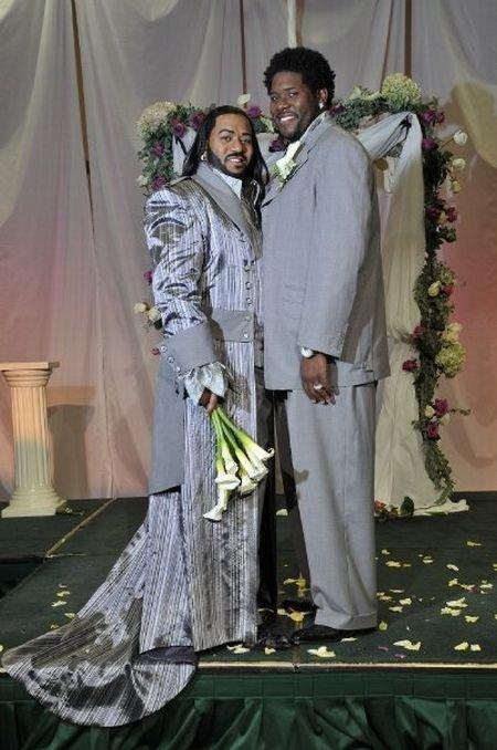 Очень странная свадьба. Американцы чудят!