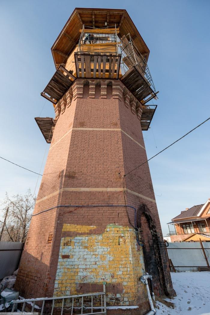 Башня Лунева - интересные фото