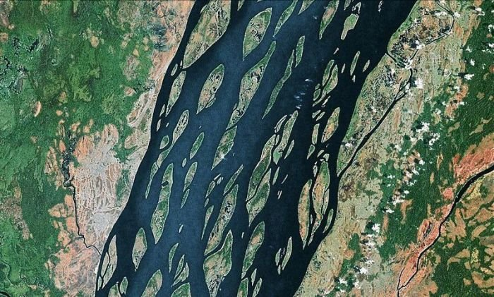 Фотографии красивых плетёных рек