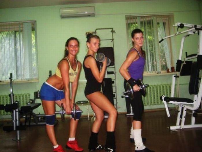 Фотографии девушек из спортивного зала. Красивые картинки