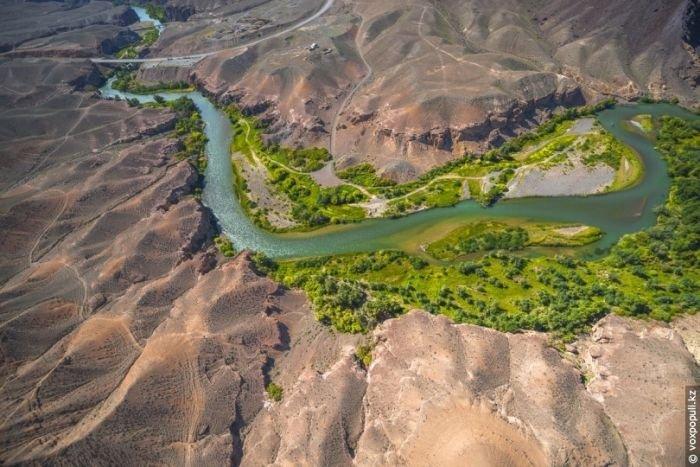 Фотографии Казахстана с высоты птичьего полёта